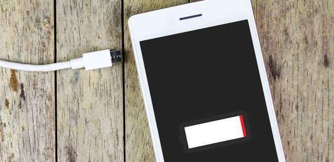 How not to let your phone battery die