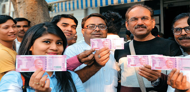 Demonetisation: My first brush with the Rs 2,000 note