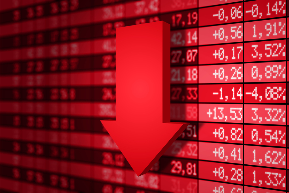 Market Witnesses Sell-Off, Sensex Tumbles 871 Pts