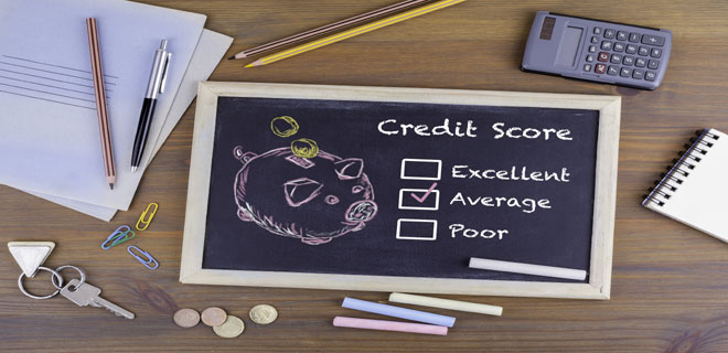 Five ways to improve your credit score