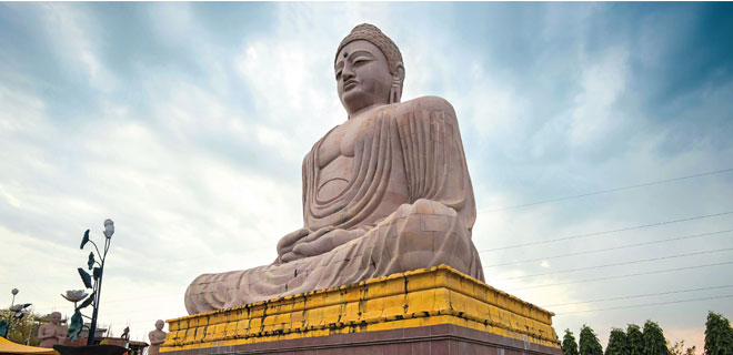 Tracing Buddha's footsteps for Rs.55, 000