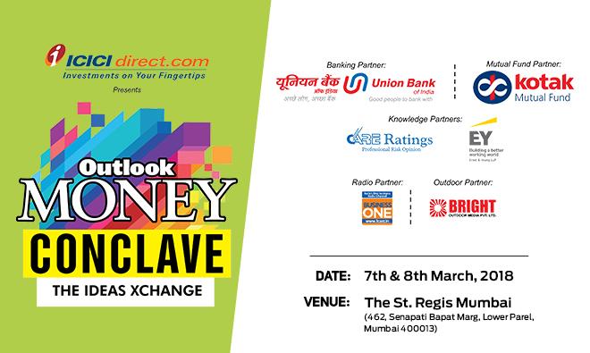 Neeraj Kulshrestha addresses the Outlook Money Conclave, highlights certain mark