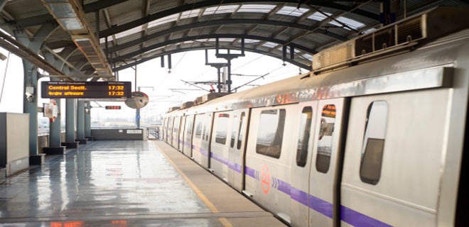 The not-so-costly Delhi metro