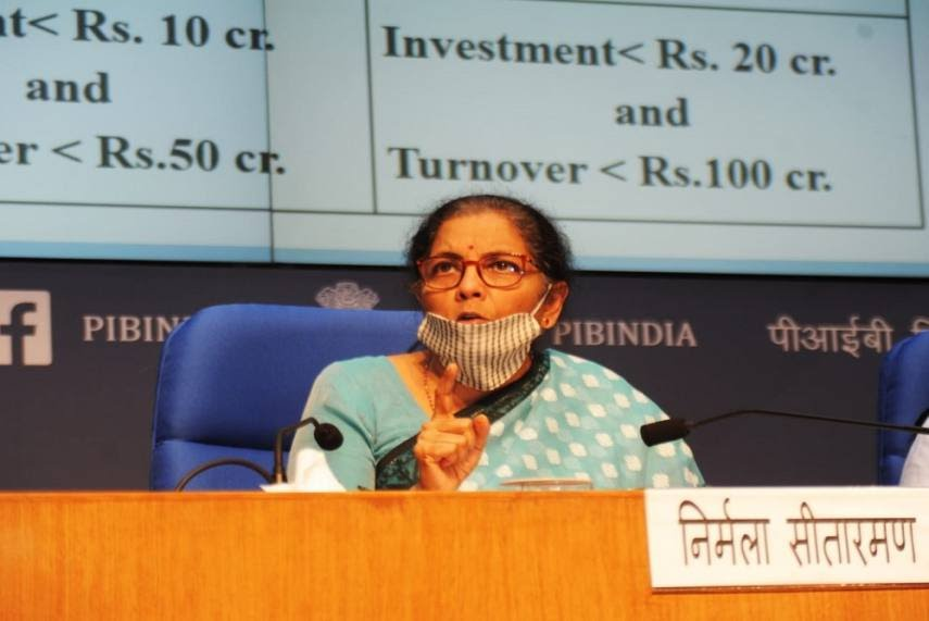 FM Reveals First Set Of Details On Rs 20 Lakh Crore Stimulus