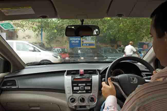 Now, drive pocket-class