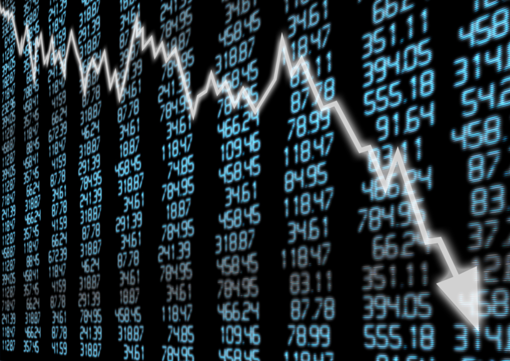 Monday Mayhem As Sensex Plunges 1941.67 Points, Nifty Below 11,000 Mark