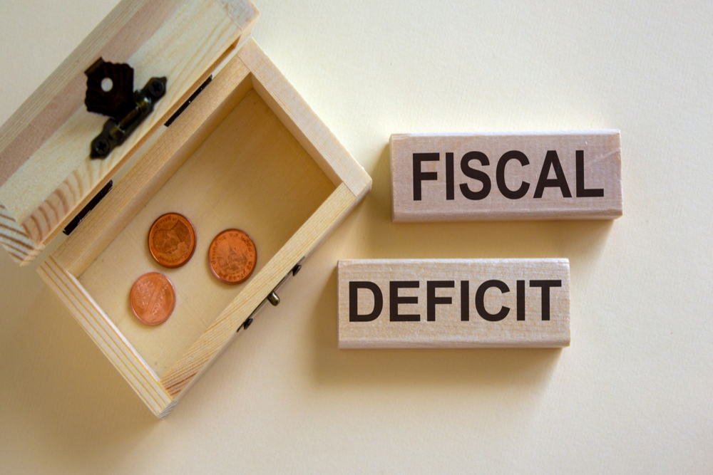 India's Fiscal Deficit At 83.2% Of Budget Estimates By June End