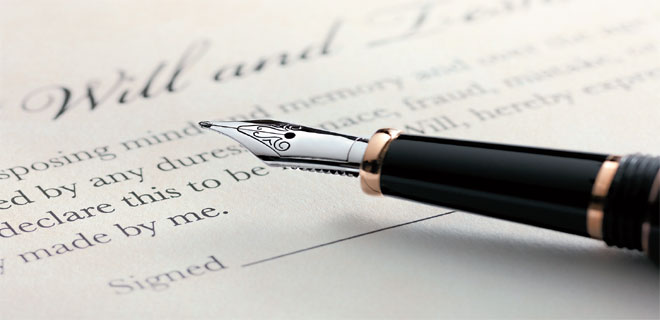 Make it easy for your legal heirs by writing a Will