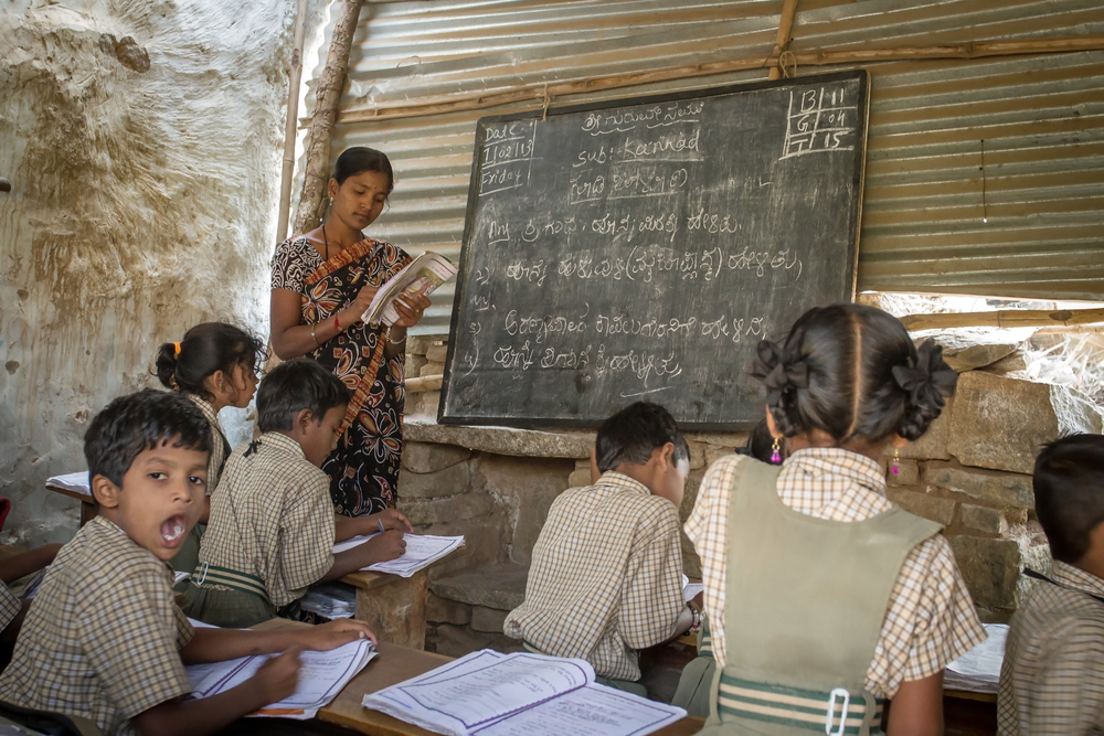 Imparting Quality Education To Tribal Children