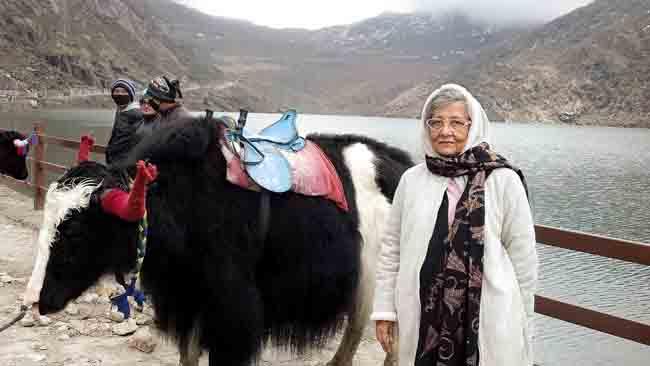 yaks for riding at Lake Tsomgo