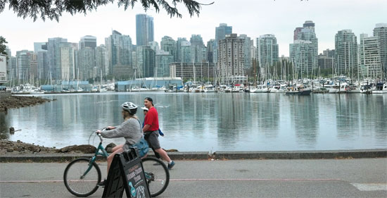 A vacation in Vancouver
