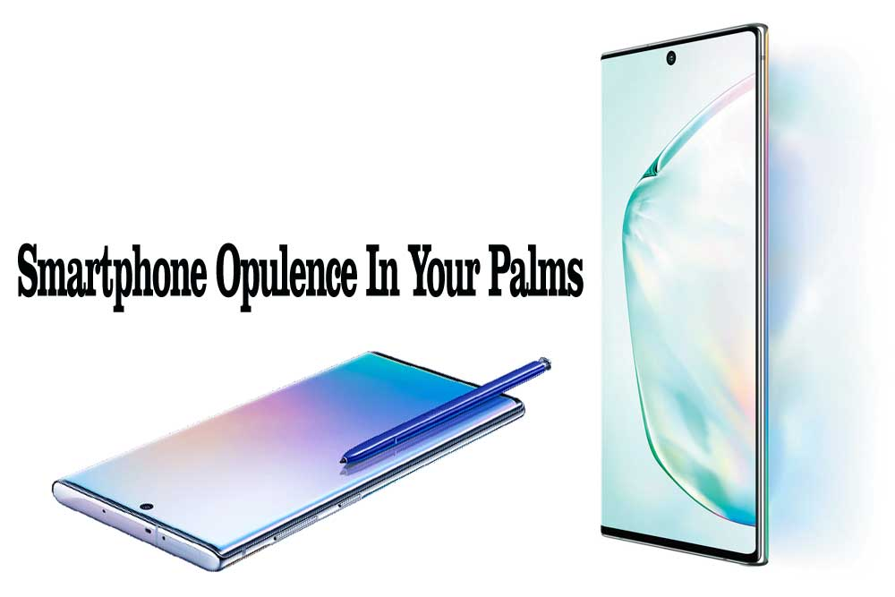 Smartphone Opulence In Your Palms