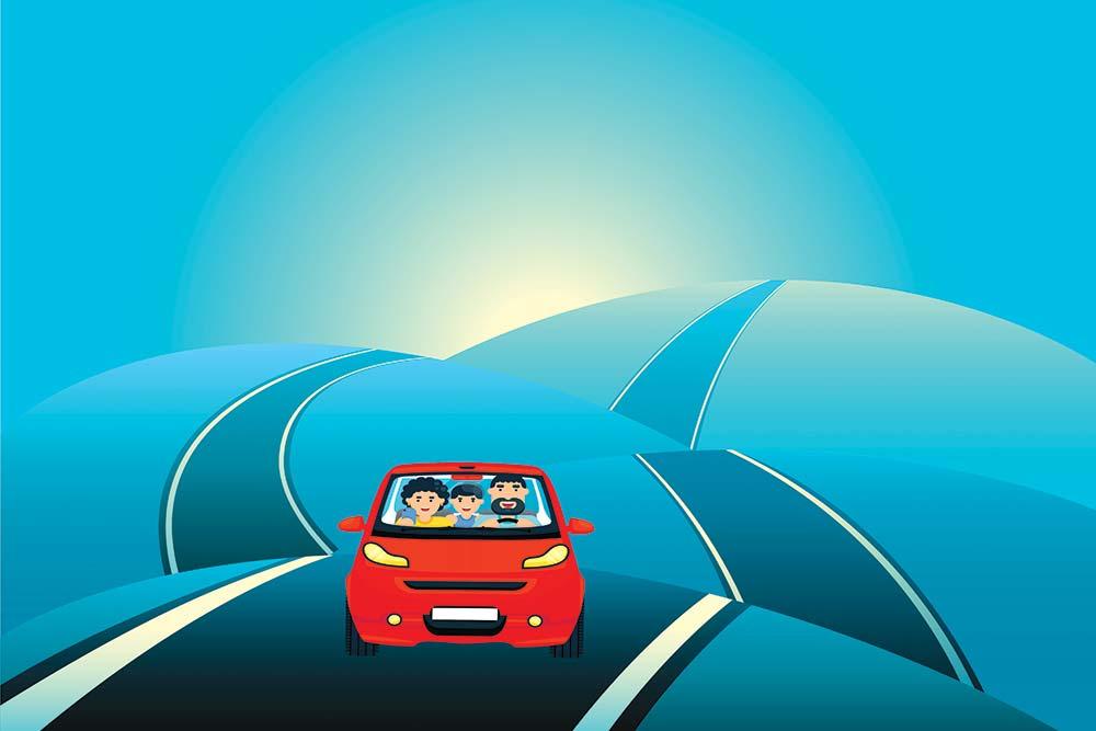 No Knee-Jerk Move On Bumpy Roads