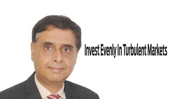 Invest Evenly In Turbulent Markets