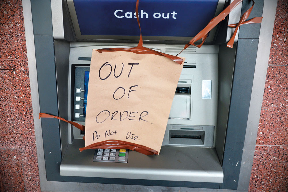 Shutdown Threat For ATMs In India