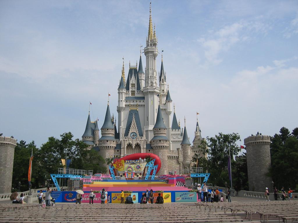 Photos Cinderella S Castle At Tokyo Disneyland Outlook Traveller