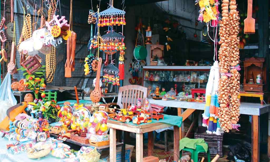 Photos Colourful Wooden Toys And Fruit Outlook Traveller