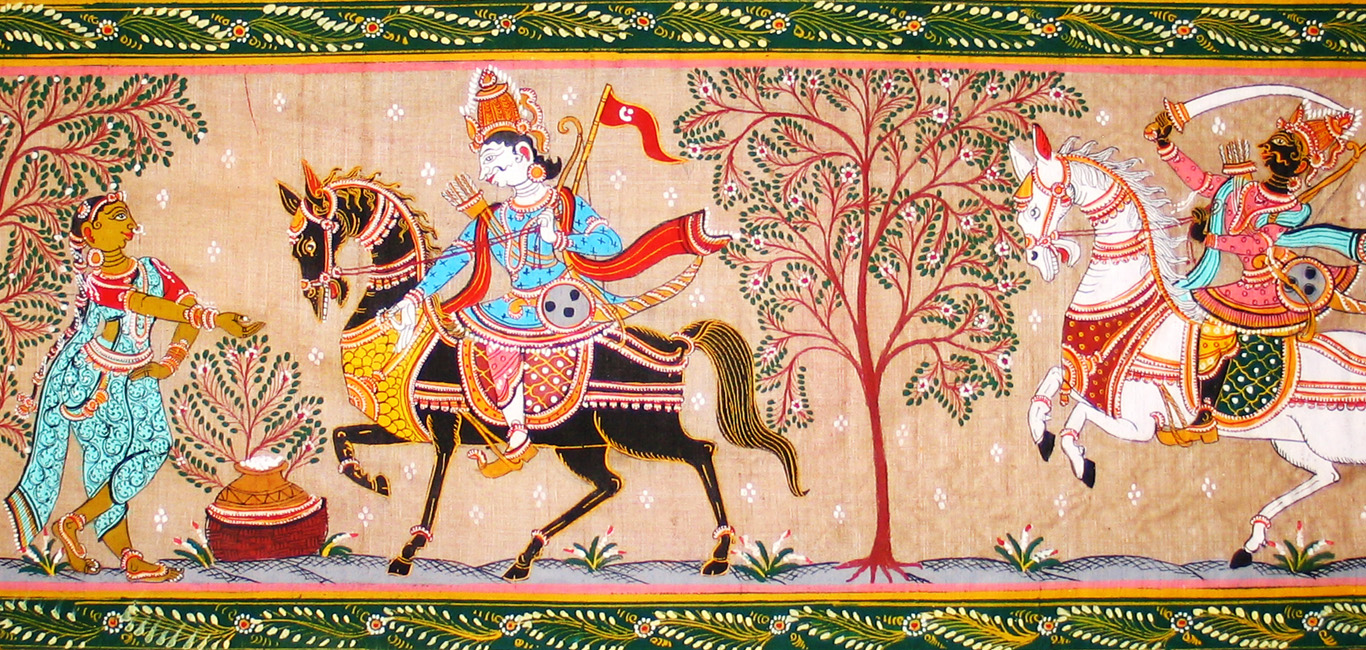 photos: an example of the pattachitra form of art from odisha