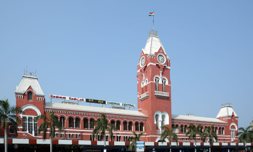 Photos: Chennai Central, formerly Madras Central, is the main railway  terminus in the city of Chennai, India. It is one of the most important  hubs in the South. - Outlook Traveller