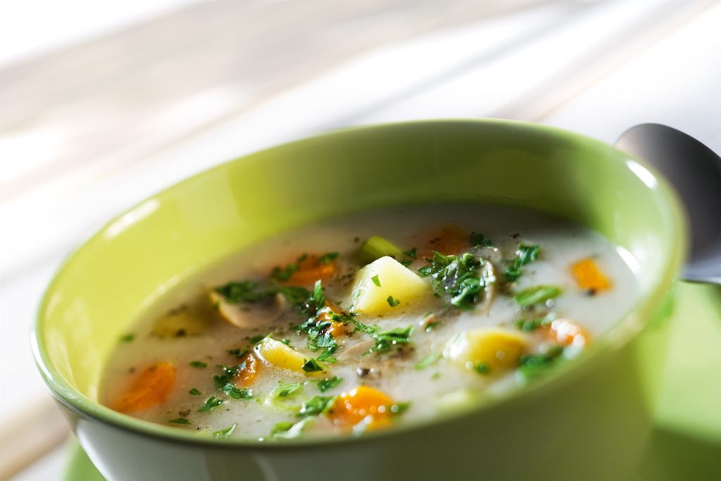 Dopřejte si zde různé polévky