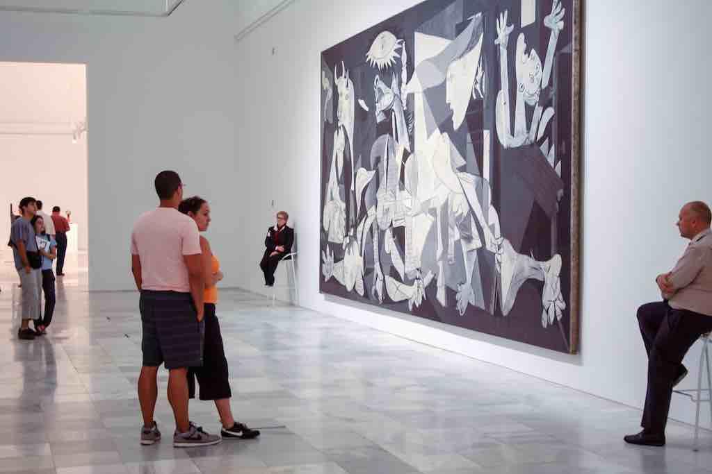 Guernica en el Museo Reina Sofía
