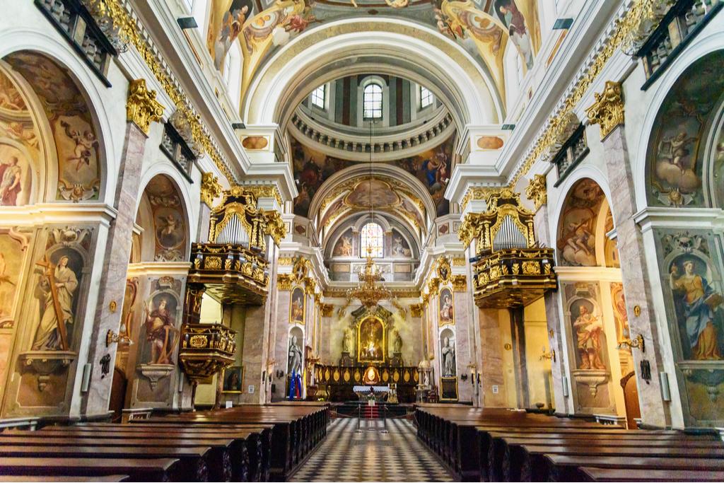 V osupljivi ljubljanski stolnici