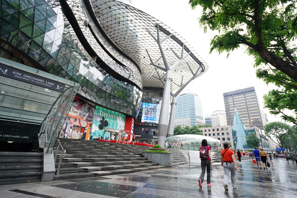 Photos: The ION Orchard mall on Orchard Road - Outlook Traveller