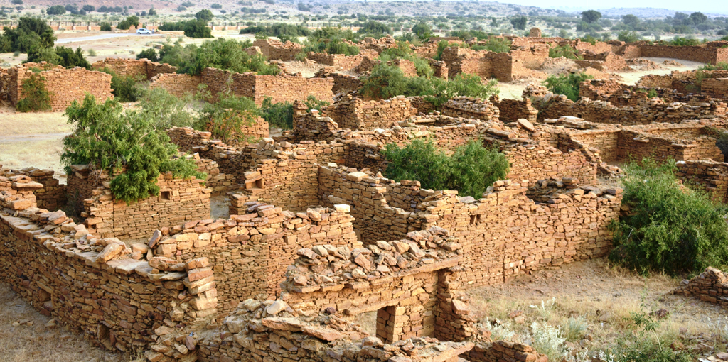 Image result for Kuldhara Village, Rajasthan