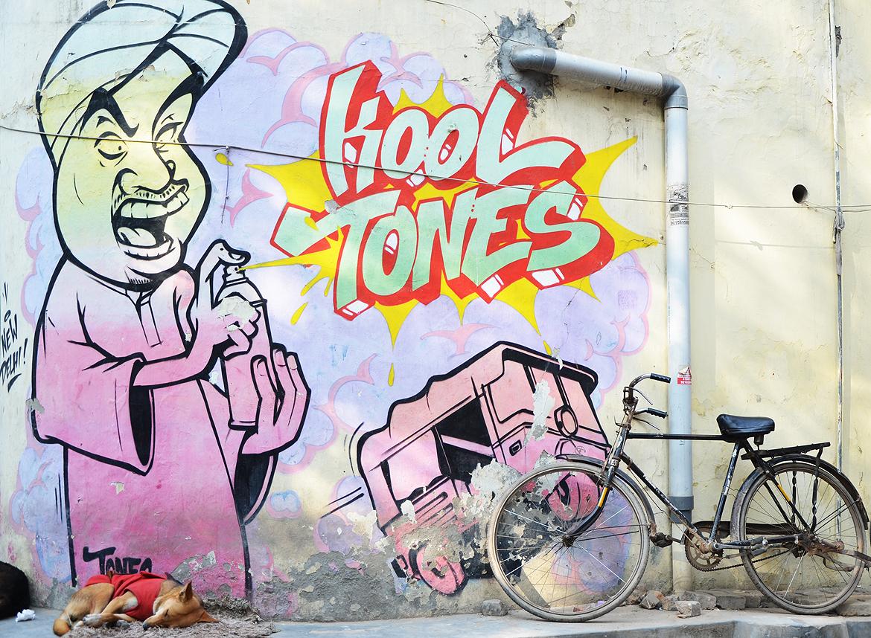 By artist Kool Tones in Shahpur Jat