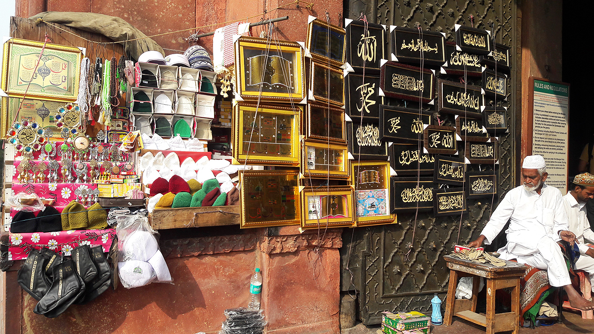 You can't miss this shop, over four generations old, at the Jama Masjid complex. The shopkeeper goes with the name Gom