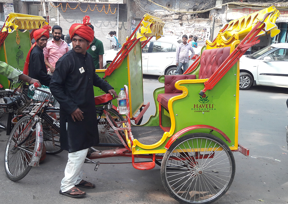 Guava Trips organises Delhi tours, and their customised rickshaws make Old Delhi tour a special one