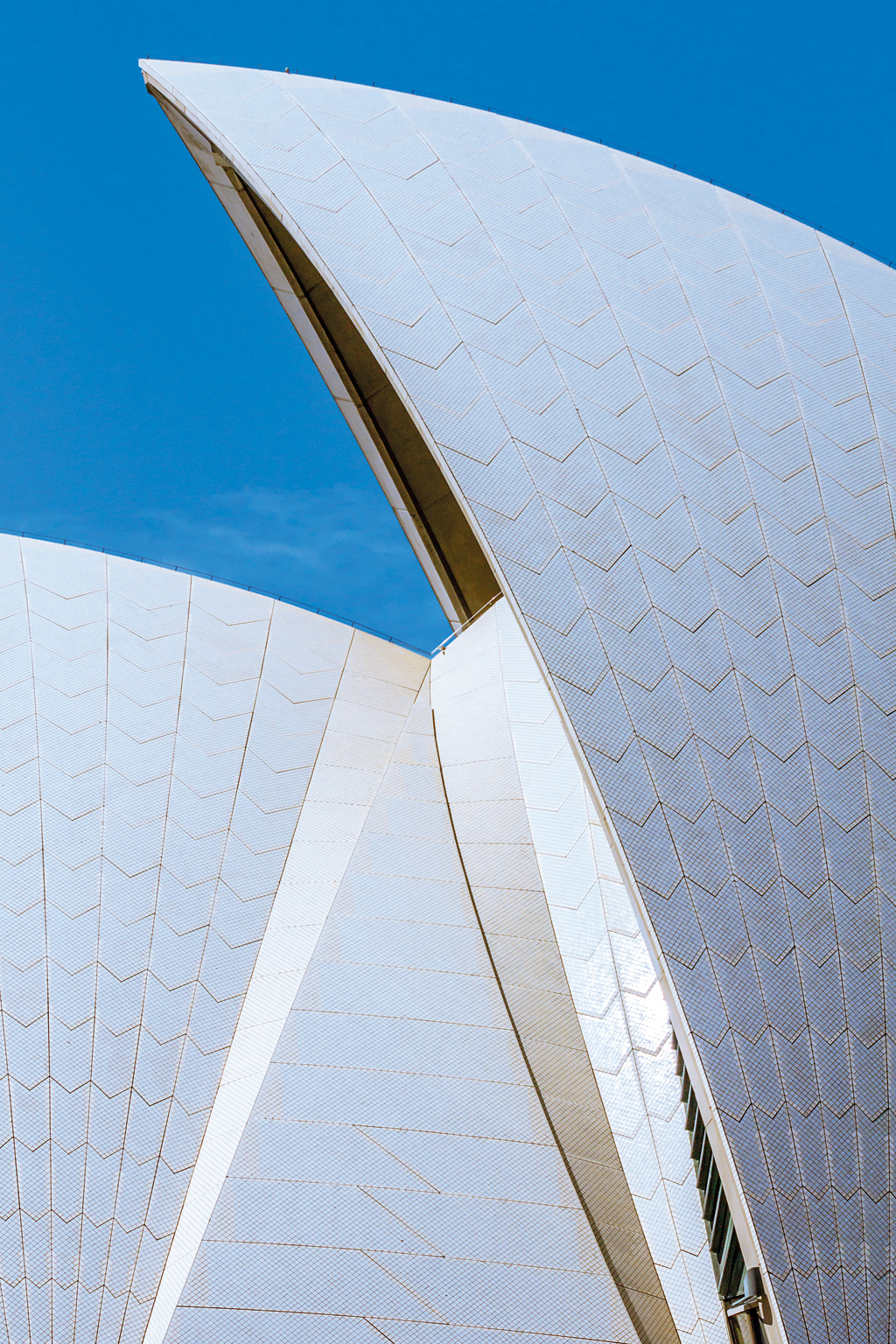 The Sydney Opera House in Australia. One of the worldÓ³ busiest performing arts venues, the Sydney Opera House holds over 1,500 performances and gets over 8 million visitors annually.