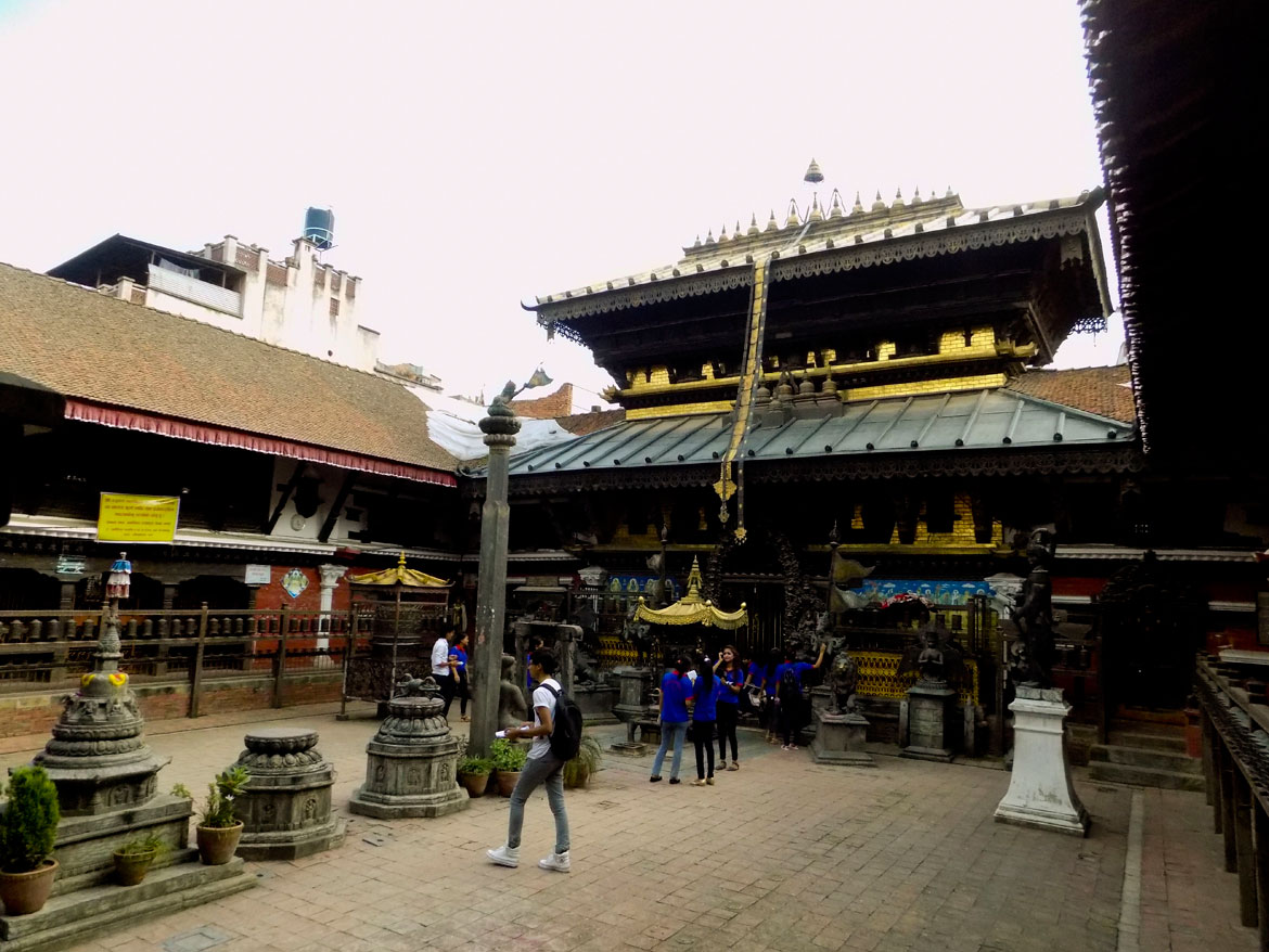The oldest historical vihara in Patan is the Uku Baha, or the Rudravarna Mahavihar, which was built in Patan by a Thakuri king called Sivadeva. While some scholars claim this was as far back as the 6th century CE, Uku Baha has certainly been a major and flourishing monastery since at least the 11th century