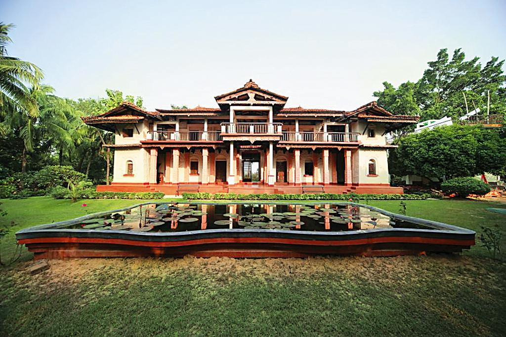 Bengal the garden bungalow santiniketan outlook traveller for Resorts in santiniketan with swimming pool