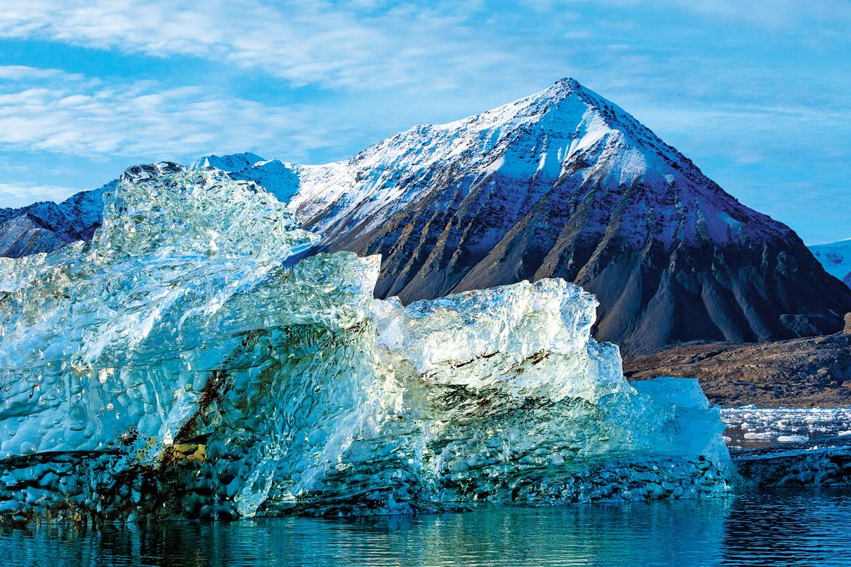 The frozen tundra that shelters polar bears