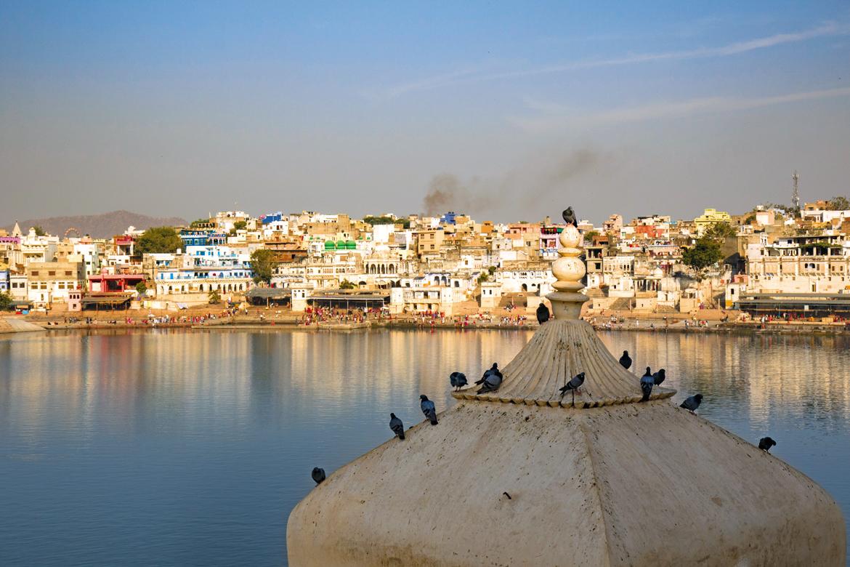 The holy Pushkar Lake