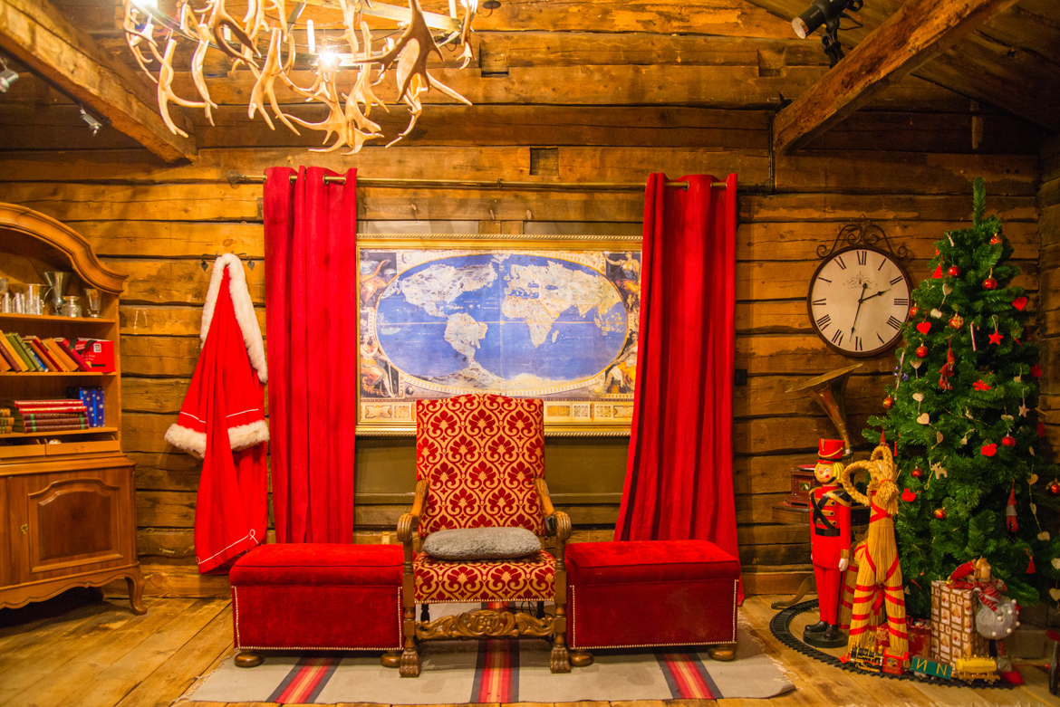 Interiors of Santa Claus' office