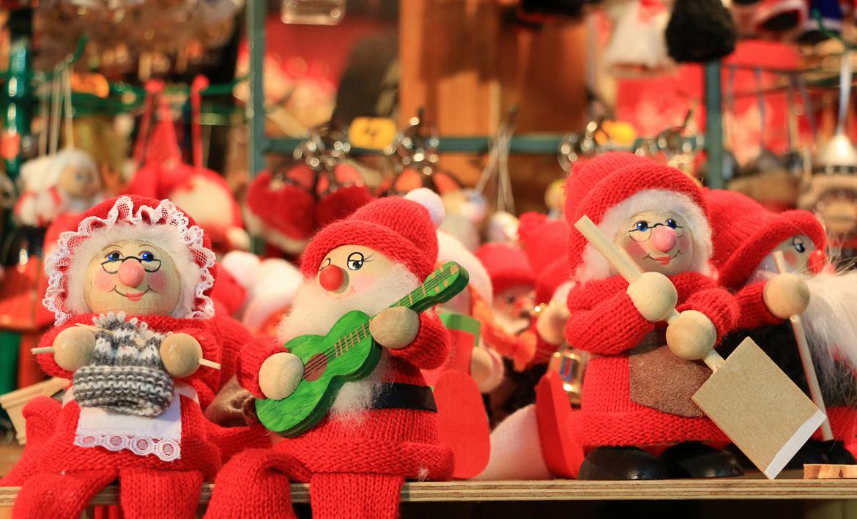 Santa Claus souvenirs