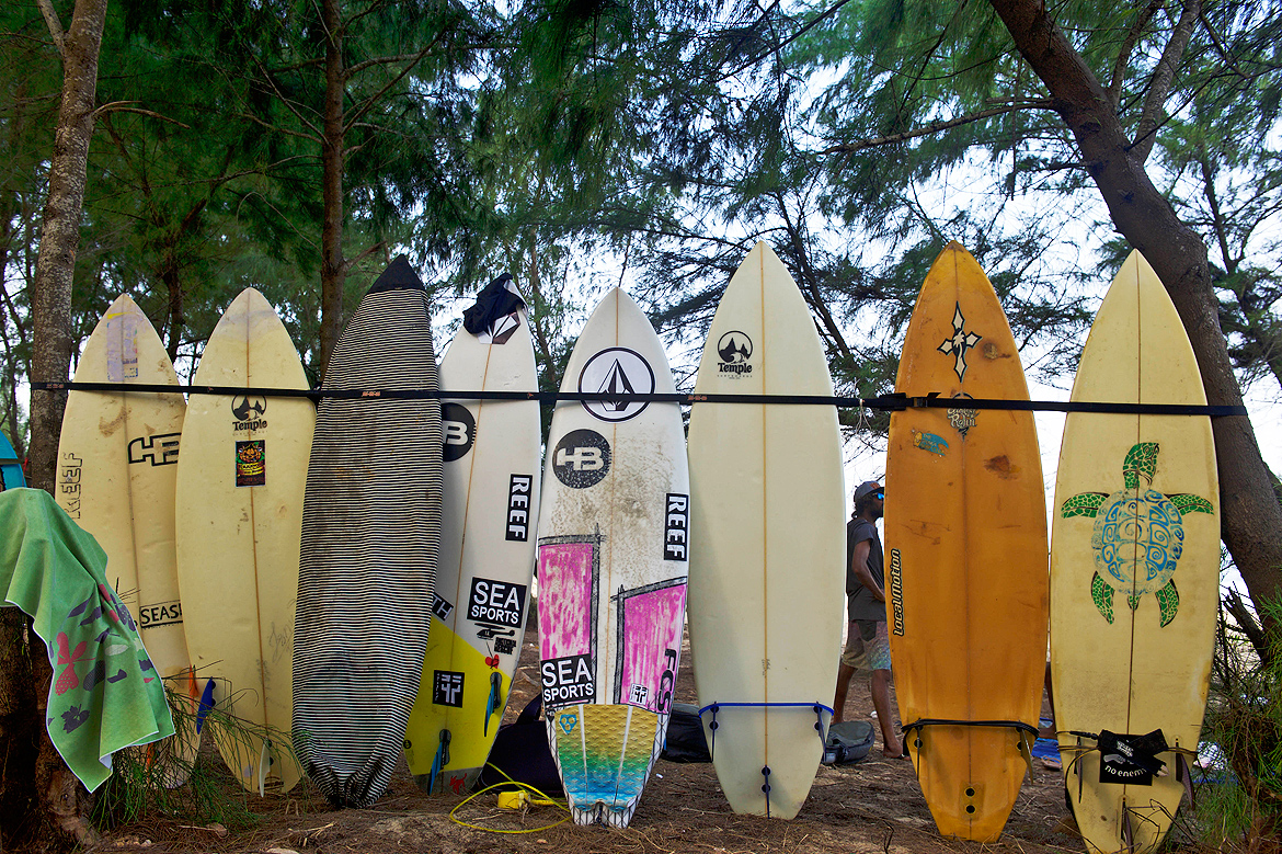 A professional surf board costs nothing less than Rs 40000
