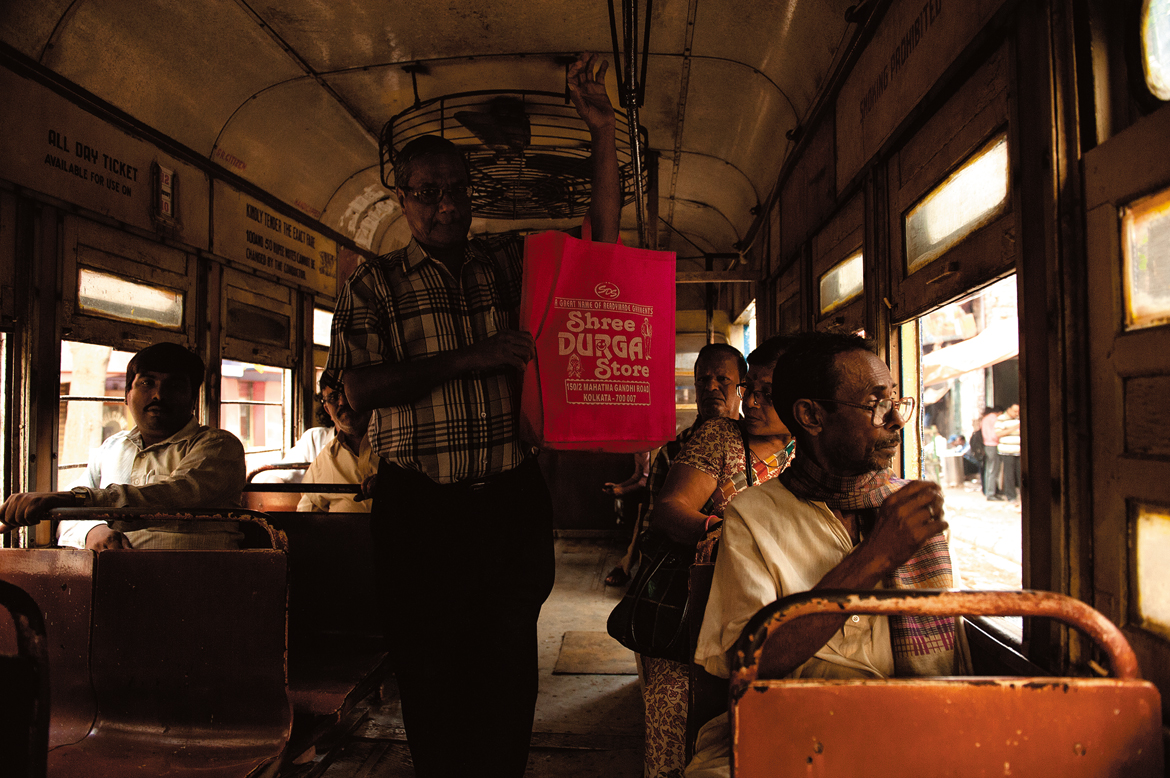 For some passengers, riding the tram is more of a habit than a need