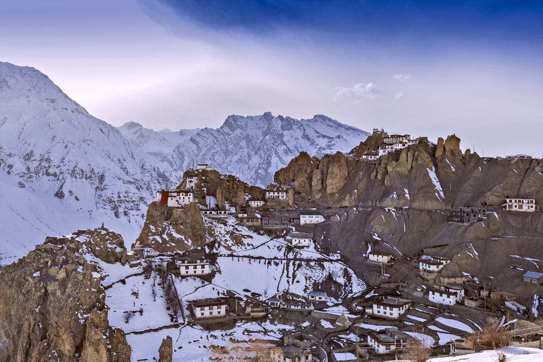 Spiti, Himachal Pradesh: Dhankar monastery