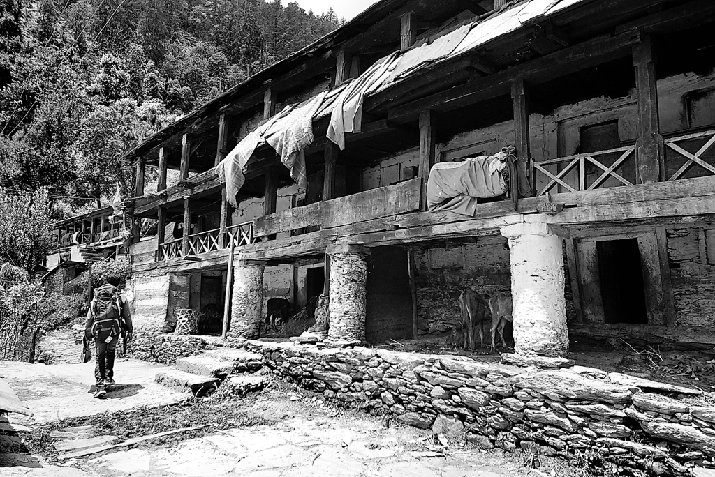 A typical homestay near Uttarkashi