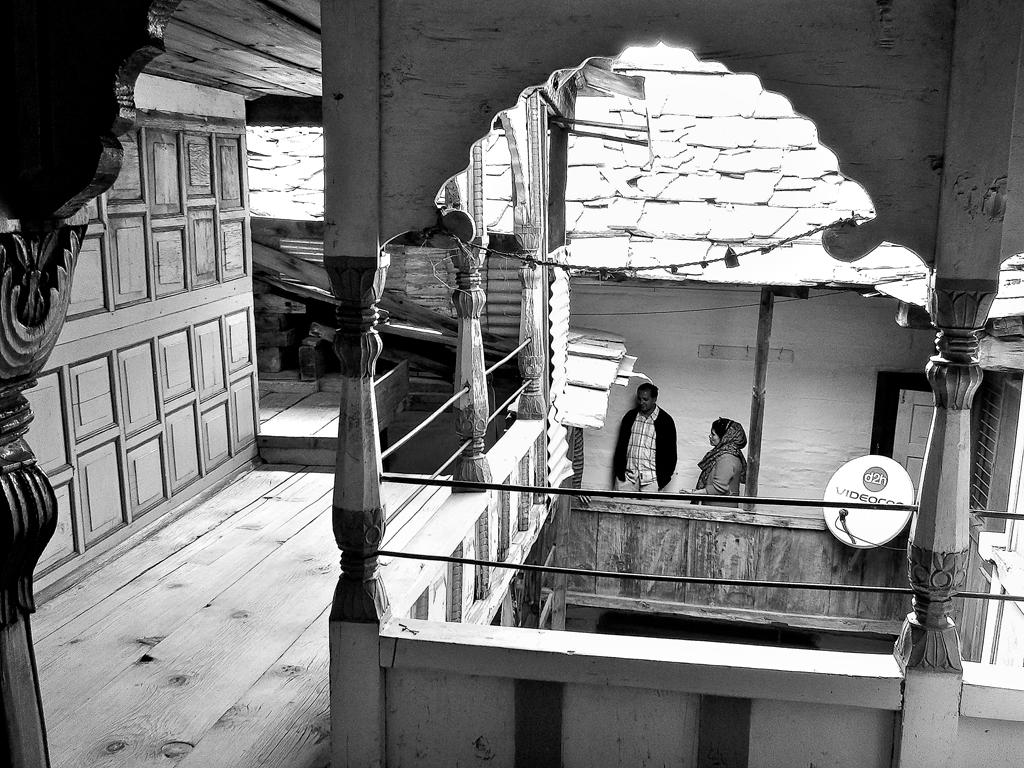 Interiors of a home in Shiraji