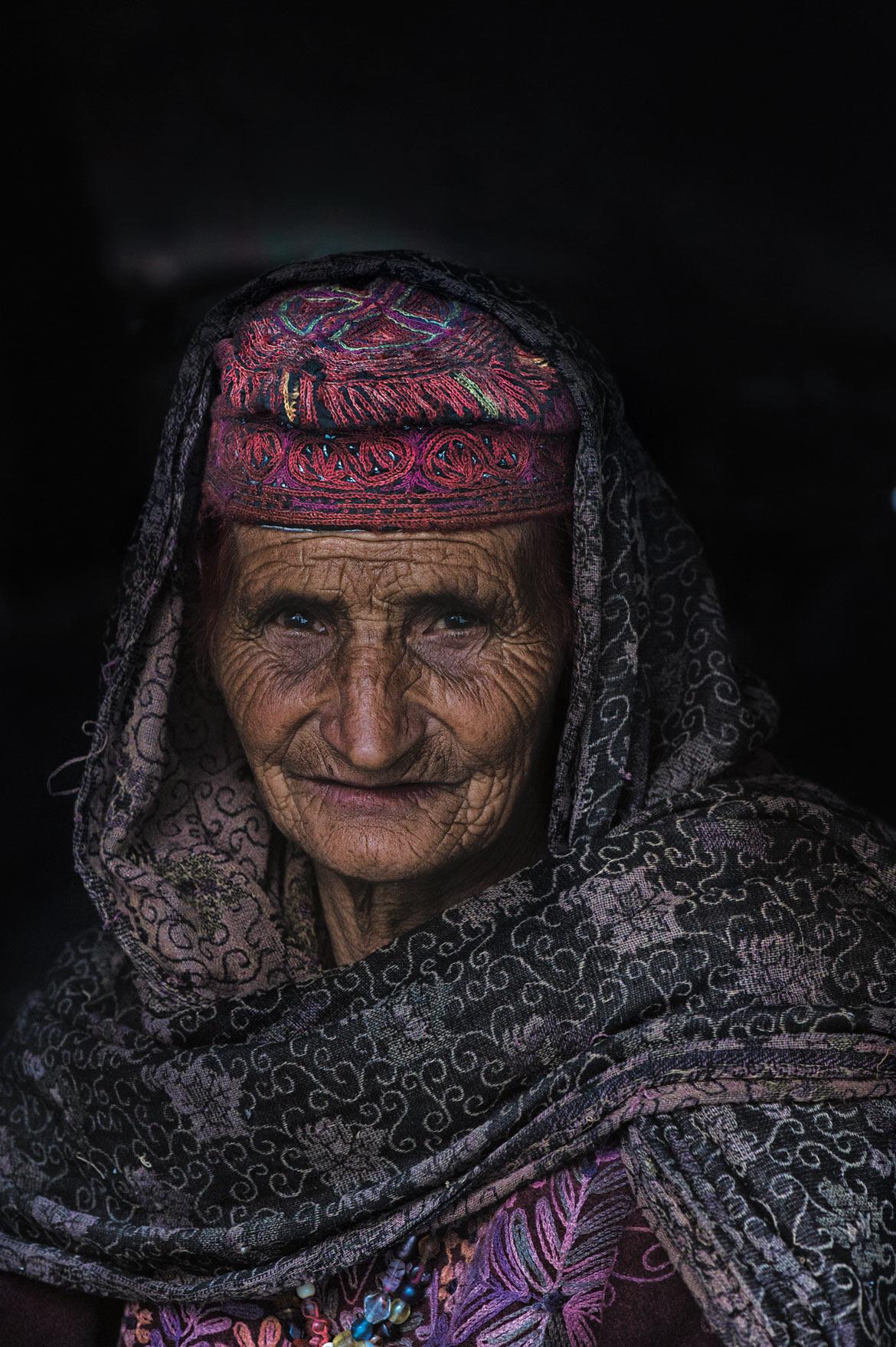 The portrait of an elder