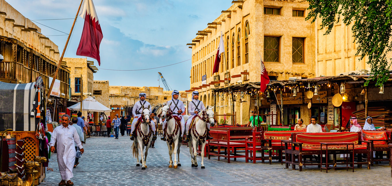 Shop At The Traditional Marketplace At Souq Waqif In Doha, Qatar - Outlook  Traveller