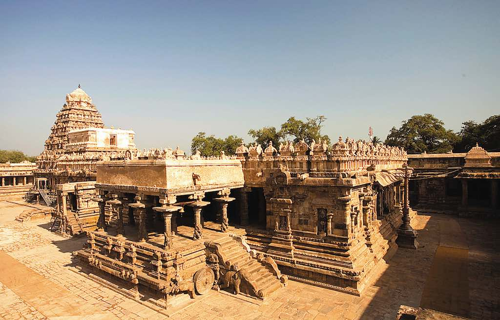 Airavatesvara temple in Darasuram