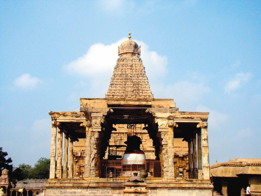 The ancient Brihadeeswarar Temple