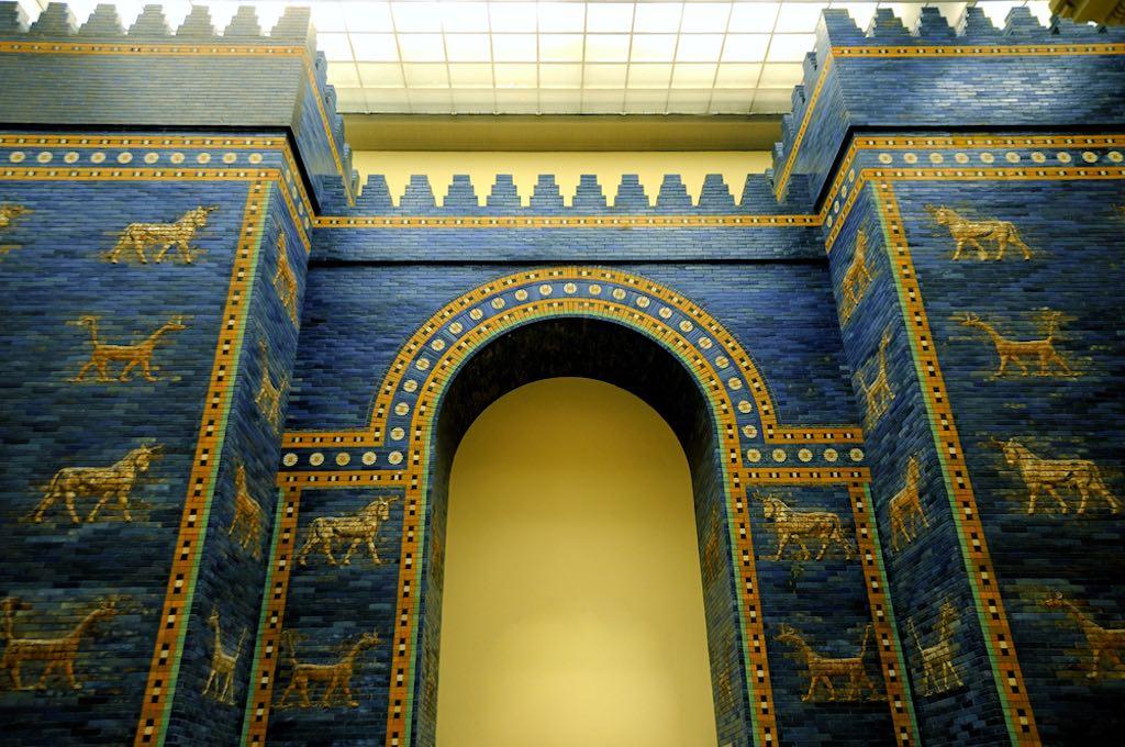 Inside the Pergamon Museum