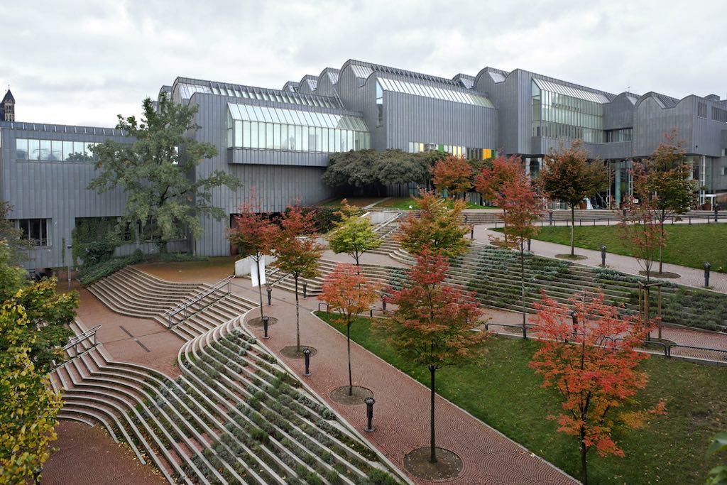 The sprawling Ludwig Museum