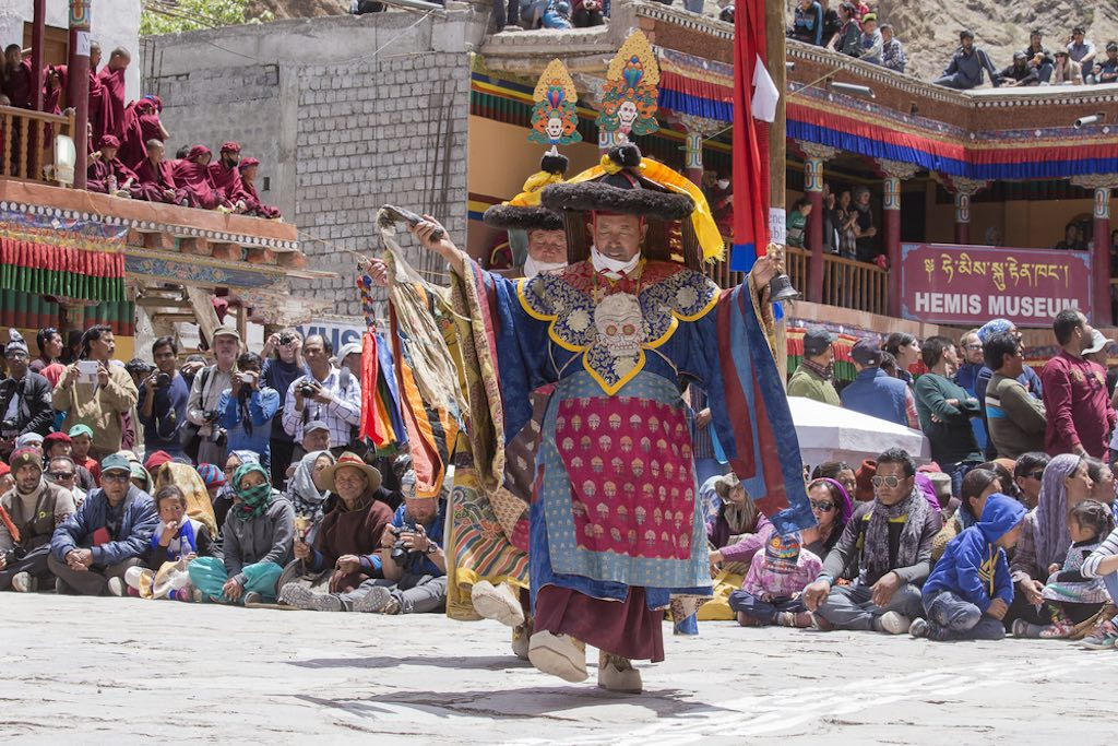 The Hemis Festival attracts visitors from across the globe